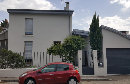 Ravalement d'une Façade à Lyon Montchat - La Maison Des Travaux