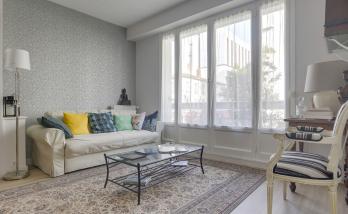 Rénovation Appartement Haussmannien Lyon 6 - Nouveau Salon